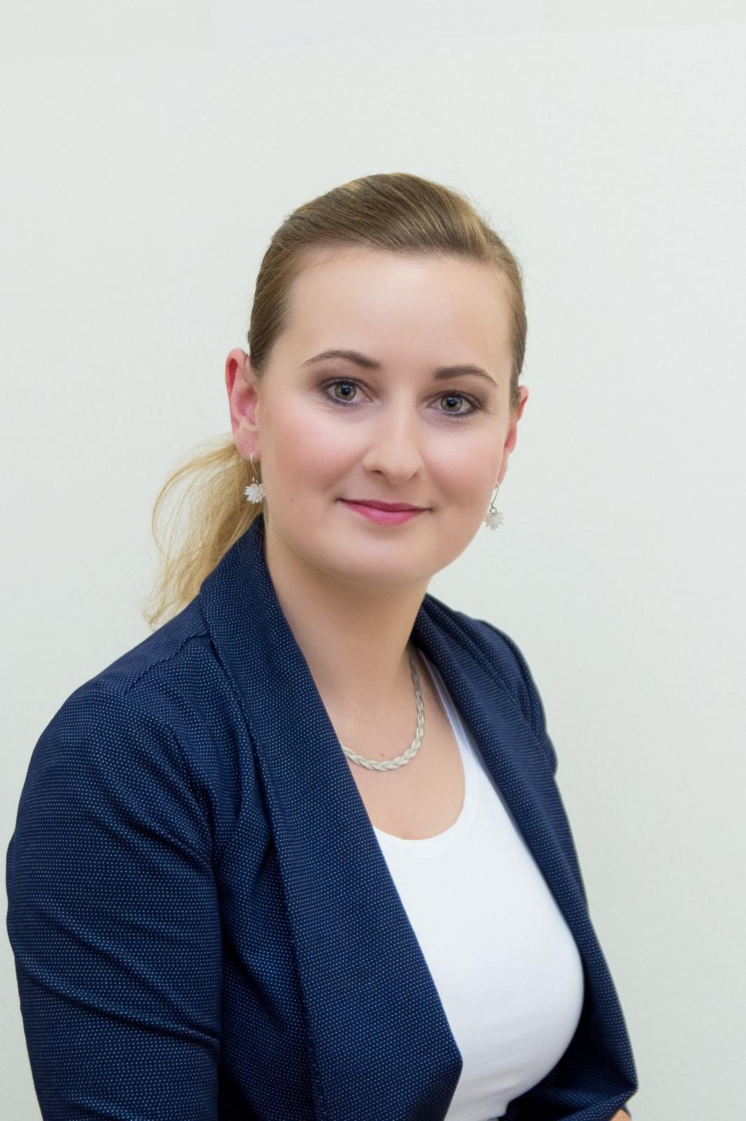 Vendula Tomášková - recepční
