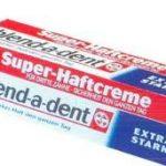 Péče o zubní protézy
